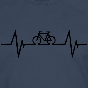 Bicycle Heartbeat T-Shirts - Men's Premium Longsleeve Shirt
