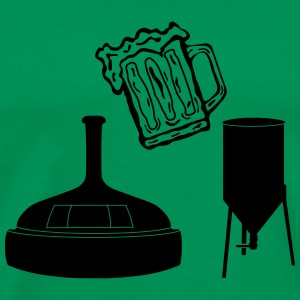 brewing_ba1 Bags & Backpacks - Men's Premium T-Shirt