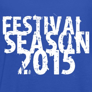 Royal blue festival design 2015 T-Shirts - Women's Tank Top by Bella