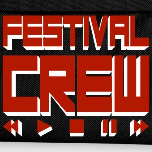 Black festival crew T-Shirts - Kids' Backpack