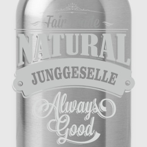 T-Shirt Junggeselle Single Bachelor - Trinkflasche