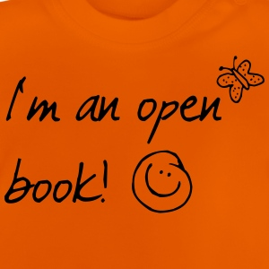 offenes_buch_1f Shirts - Baby T-shirt