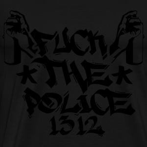 police_17_1f Sweaters - Mannen Premium T-shirt