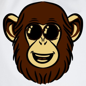 chimpansee aap liefde zoete zonnebril T-shirts - Gymtas