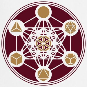Platonic Solids, Metatrons Cube, Flower of Life T-skjorter - Kokkeforkle