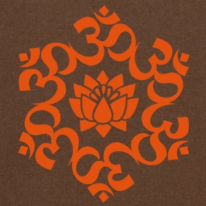 OM Lotus, Meditation, Yoga, AUM, Buddhism T-Shirts - Shoulder Bag