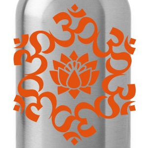 OM Lotus, Meditation, Yoga, AUM, Buddhism T-Shirts - Water Bottle
