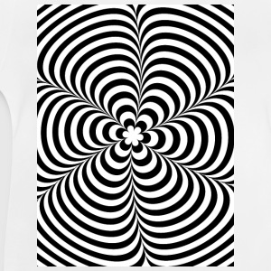 Optical illusion (Impossible) Black & White OP-Art Shirts met lange mouwen - Baby T-shirt