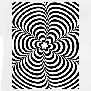 Optical illusion (Impossible) Black & White OP-Art Shirts - Baby T-shirt