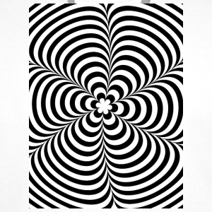 Optical illusion (Impossible) Black & White OP-Art Phone & Tablet Cases - Men's Premium Hoodie