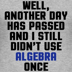 Didn't Use Algebra Once  Tröjor - Slim Fit T-shirt herr