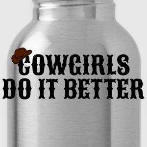 Cowgirls do it better cowgirls doen het beter Sweaters - Drinkfles