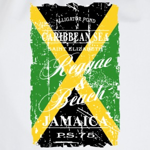Jamaica Flag - Vintage Look T-Shirts - Turnbeutel