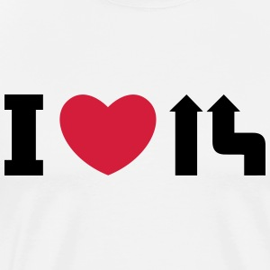 I love merge Tops - Men's Premium T-Shirt