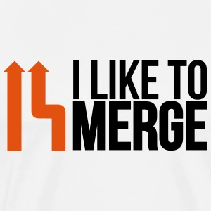 I love merge Sports wear - Men's Premium T-Shirt