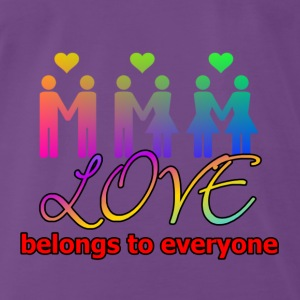 Love4everyone Tops - Men's Premium T-Shirt