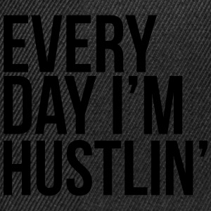 Hustlin' Tee shirts - Casquette snapback