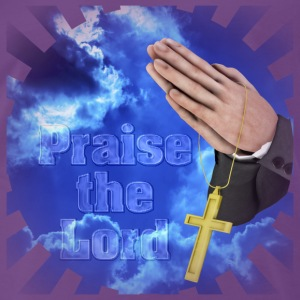 Praise the Lord  Tops - Men's Premium T-Shirt