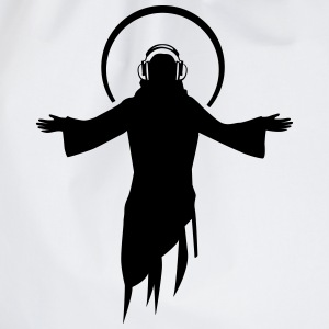 DJ Jesus T-Shirts - Drawstring Bag
