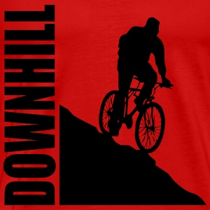 Bike Downhill Tops - Männer Premium T-Shirt