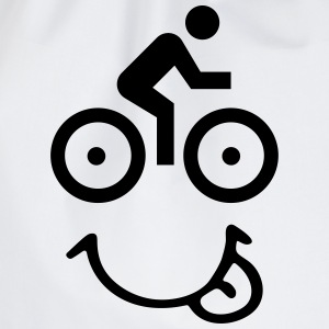Bike face T-Shirts - Turnbeutel