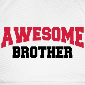 Awesome Brother Langarmshirts - Baseballkappe