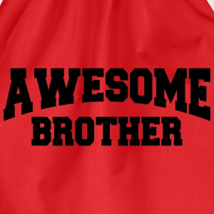 Awesome Brother T-shirts - Gymnastikpåse