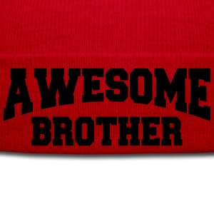 Awesome Brother Camisetas - Gorro de invierno