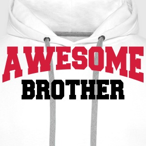 Awesome Brother Camisetas - Sudadera con capucha premium para hombre