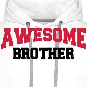 Awesome Brother Tee shirts - Sweat-shirt à capuche Premium pour hommes