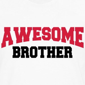 Awesome Brother T-shirts - Långärmad premium-T-shirt herr