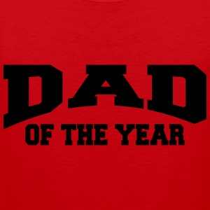 Dad of the year T-shirts - Mannen Premium tank top