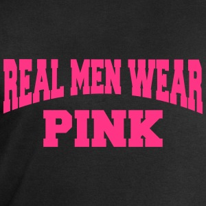 Real men wear pink Tee shirts - Sweat-shirt Homme Stanley & Stella