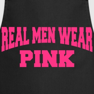 Real men wear pink T-skjorter - Kokkeforkle