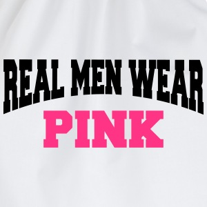 Real men wear pink T-Shirts - Turnbeutel