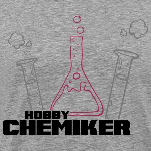 hobby_chemiker_3_3f Manches longues - T-shirt Premium Homme