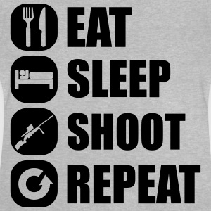 eat_sleep_weapon_repeat_6_1f T-Shirts - Baby T-Shirt