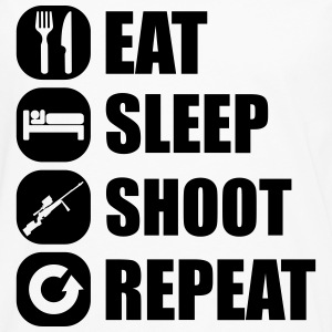 eat_sleep_weapon_repeat_6_1f Bodys Bébés - T-shirt manches longues Premium Homme