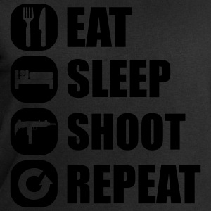 eat_sleep_weapon_repeat_5_1f Magliette - Felpa da uomo di Stanley & Stella