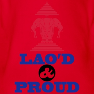 LAO'D & PROUD Shirts - Organic Short-sleeved Baby Bodysuit
