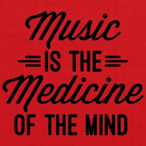 Music Medicine Of The Mind  Camisetas - Bolsa de tela