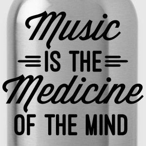 Music Medicine Of The Mind  Pullover & Hoodies - Trinkflasche