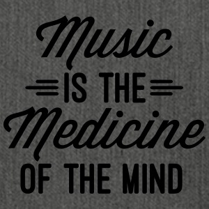 Music Medicine Of The Mind  Pullover & Hoodies - Schultertasche aus Recycling-Material