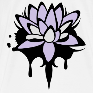 Lotus flower graffiti Other - Men's Premium T-Shirt