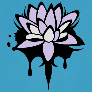 Lotus flower graffiti Accessories - Men's Breathable T-Shirt