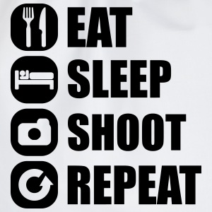eat_sleep_shoot_repeat_3_1f Débardeurs - Sac de sport léger