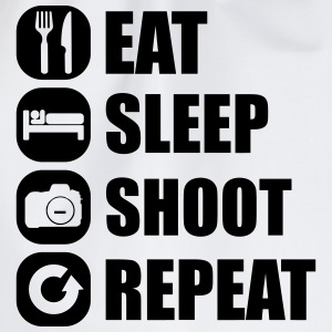 eat_sleep_shoot_repeat_1_1f Débardeurs - Sac de sport léger