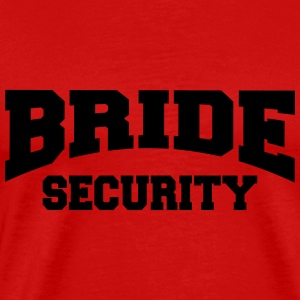 Bride Security Langarmshirts - Männer Premium T-Shirt