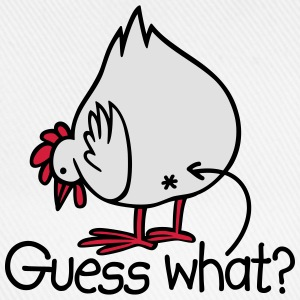 Guess what? (Chicken butt!) Tee shirts - Casquette classique