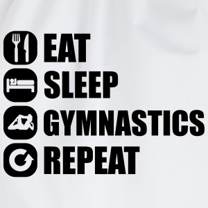 eat_sleep_gym_repeat_8_1f Magliette - Sacca sportiva